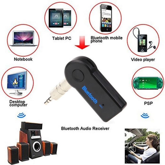 Mini Bluetooth Audio Receiver Bluetooth Transmitter 3.5mm Jack Handsfree PN1