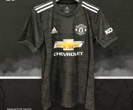 Manchester United 20 21 Away Kit Sky Garden